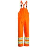 Salopette orange haute visibilité 150D Open Road, très grand