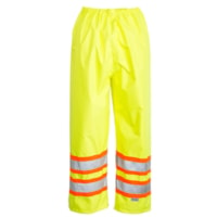 Open Road High-Visibility 150D Green 2XL Safety Waist Pants