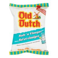 Old Dutch Potato Chips, Salt 'N Vinegar, 40 g, 40/CT