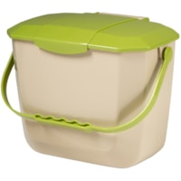 Globe Commercial Products Organics Countertop Bin, 2 Gallon