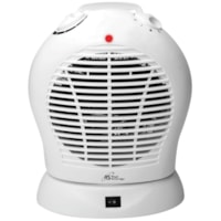 Royal Sovereign HFN-30 Oscillating Fan Heater, 2 Heat Settings, White