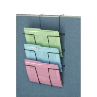 Fellowes Partition Additions Wire Triple-File Pocket