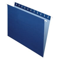 Grand & Toy Hanging Folders, Navy, Letter-Size, 25/BX