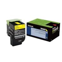 Lexmark CS310, CS410, CS510 Yellow High Yield Return Program Toner Cartridge (70C1HY0)