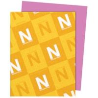 Papier Astrobrights Neenah, orchidée extravagante, format lettre, certifié FSC et Green Seal, 24 lb, rame
