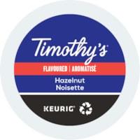 Timothy's® Single-Serve Coffee K-Cup Pods, Hazelnut Flavoured, Box of 24