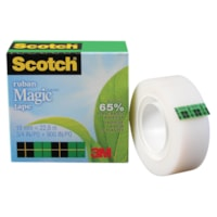 Recharge de ruban adhésif Magic Scotch, avec agent adhésif à base végétale
