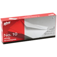 Boîte d'enveloppes blanches standard n° 10 Hilroy