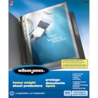 Protège-documents transparents de format lettre Wilson Jones