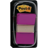 Post-it Standard Flags, Purple, 1