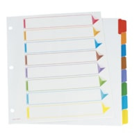 Oxford Omni-Dex Colour-Coded Index Tab Dividers