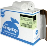 Ralston 2800 Series High-Density Industrial Garbage Bags, Frosted, 22