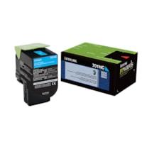 Lexmark CS310, CS410, CS510 Cyan High Yield Return Program Toner Cartridge (70C1HC0)