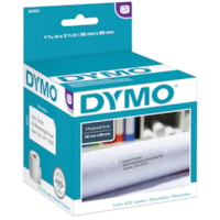 DYMO LabelWriter Large Address Thermal Labels, White, 1 2/5