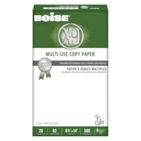 Boise X-9 Multi-Use Copy Paper, 20 lb., White, Legal-size (8 1/2