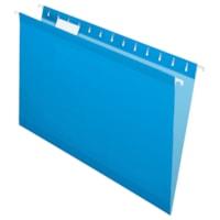 Pendaflex Premium Reinforced Hanging Folders, Blue, Legal Size, 25/BX