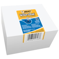 BIC Wite-Out EZcorrect Correction Tape, 12/PK