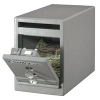 Coffre-fort sous le comptoir à fente de dépôt sécurisé SentrySafe