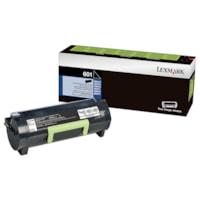 Cartouche de toner à rendement standard Lexmark 601 Programme de retour (60F1000), noir