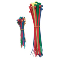 Duraline Nylon Cable Ties, Assorted Colours, 4