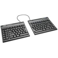 Kinesis Freestyle2 Convertible Keyboard, French, Black (KB800PB-FC)