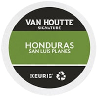 Van Houtte Single-Serve Coffee K-Cup Pods, Honduras San Luis Planes, 24/BX