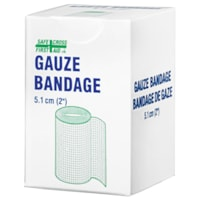 SAFECROSS Gauze Conforming Stretch Bandage