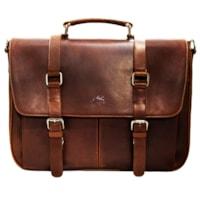Mancini Single Compartment Briefcase for 15