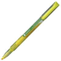 Grand & Toy Liquid Ink Highlighter, Fluorescent Yellow, Chisel Tip