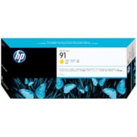 Cartouche d'encre pigmentée DesignJet HP 91 (C9469A), jaune, 775 ml