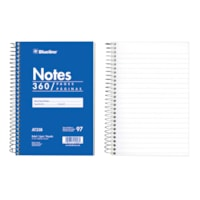 Blueline Notes Pad, Side Binding, Blue, 6