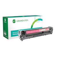 Grand & Toy Remanufactured HP 128A Magenta Standard Yield Toner Cartridge (CE323A)