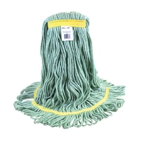 Globe Commercial Products Eco-Pro 16-oz Narrow-Band Wet Mop, Looped End