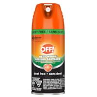 OFF! Deep Woods Deet-Free Insect Repellent, Aerosol Spray, 142 g