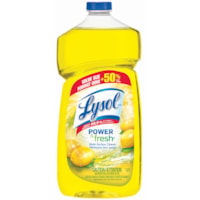 Lysol Power and Fresh Lemon Scent Pourable Multi-Surface Liquid Cleaner, 1.2 L