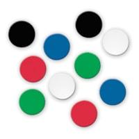 Quartet Ceramic Magnets, Assorted Colours, 3/4