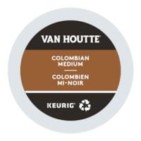 Dosettes K-Cup de café Van Houtte, colombien mi-noir, boîte de 24