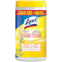 Lysol Disinfecting Wipes, Citrus Scent, 110/PK