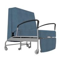 healtHcentric Aloe Sleeper Chair for Healthcare Environments