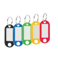 Merangue Plastic Key Tags