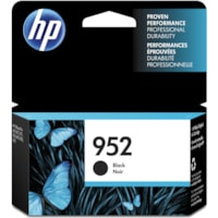 HP 952 Black Standard Yield Ink Cartridge (F6U15AN)