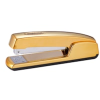 Bostitch Professional Executive Full-Strip Desktop Stapler with Antimicrobial Protection, Gold, 20-Sheet Capacity