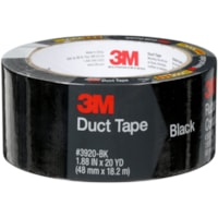 3M 3920 General Purpose Duct Tape, Black, 48 mm x 18.2 m