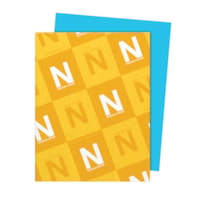 Neenah Astrobrights Lunar Blue Paper, Letter-Size, FSC And Green Seal Certified, 24 lb., Ream