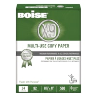 Boise X-9 Multi-Use Copy Paper, 24 lb., White, Letter-size (8 1/2