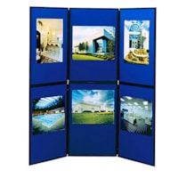 Quartet Exhibition 6-Panel Floor Display System, 72