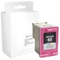 Grand & Toy Remanufactured HP 63 Tri-Colour Standard Yield Ink Cartridge (F6U61AN)