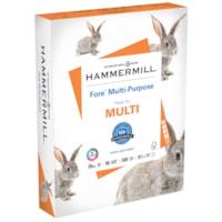 Papier à usages multiples Fore Hammermill, certifié FSC, 20 lb, 8 1/2 po x 11 po, caisse