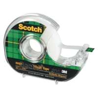 Scotch 810 Series Magic Tape With Refillable Dispenser