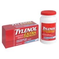 Comprimés d'acétaminophène Tylenol, extra fort